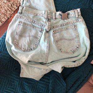 Vintage acid wash Lee jeans